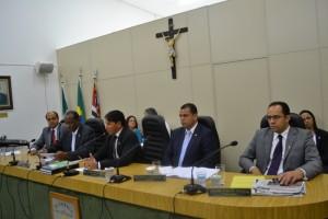 Membros da Mesa Diretora