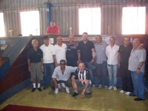 Valtinho do Ipanema comemora sucesso do1º campeonato de bocha
