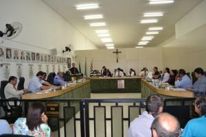 Vereadores concluem a votação de projeto que troca vale-alimentação por cesta básica