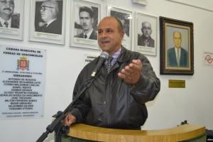 Roberto de Souza pede o encaminhamento do projeto de lei que cria o Fundo Próprio