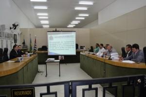 Audiência das metas fiscais em 08 de agosto