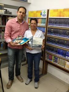 Aurélio Alegrete consegue a doação de 150 livros para a Biblioteca Municipal José Andere