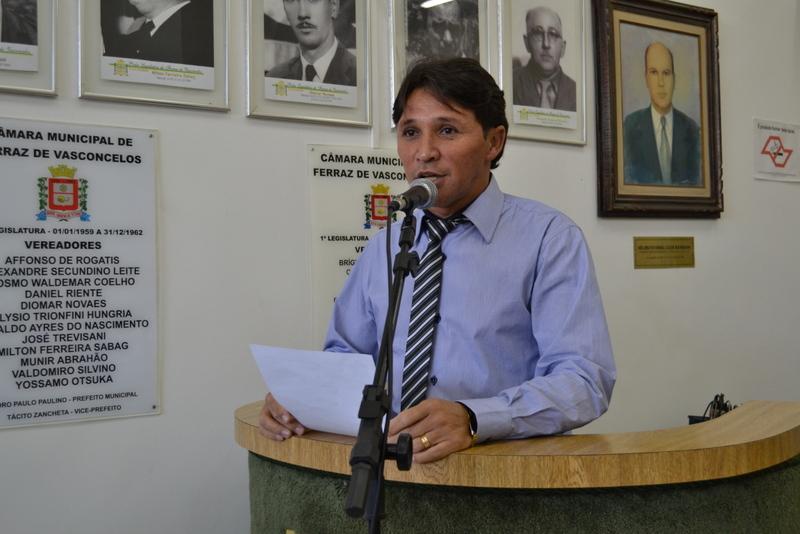 Fabinho festeja a adesão de Ferraz ao programa Se Liga na Rede