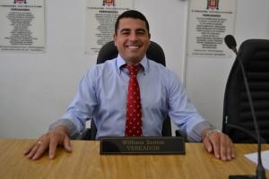 Willians do Gás é eleito 1º secretário da Mesa Diretora até dezembro