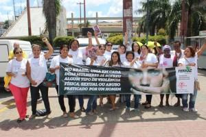 Conselho Municipal da Mulher promove ato contra a violência