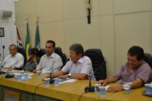 Claudio Ramos debate a saúde pública municipal e estadual