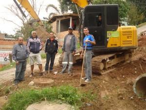 Flávio do Depósito consegue a limpeza de calçadas em bairros