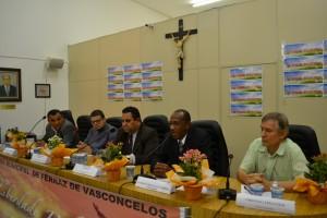 Vereador Tonho (2º esq) durante fórum de liberdade religiosa