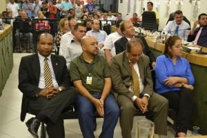 Secretários municipais prestigiam reabertura de trabalhos legislativos de 2015
