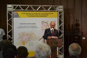 Governador autoriza a construção de acesso ao Rodoanel