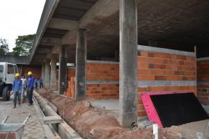 Obra da nova sede tem 30% dos trabalhos executados