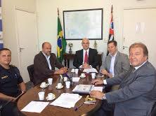 Presidente se reúne com secretário da Segurança Pública