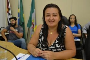 Vereadora Adriana Trajano substitui Fabinho por 30 dias