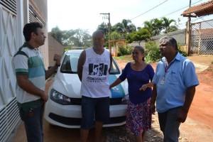 Tenório apoia a luta de moradores do Sitio Paiolzinho
