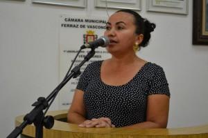 Vereadora solicita o fechamento de buracos na Vila Arbame