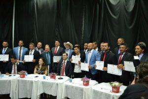 Justiça Eleitoral realiza a diplomação de eleitos