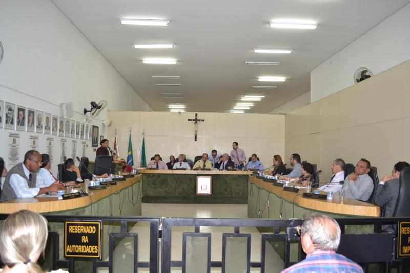 Vereadores aprovam em 1ª discussão o orçamento de 2017