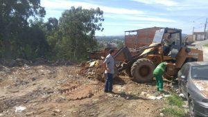 Primo Ceará contribui com a limpeza de rua no Jardim do Sol