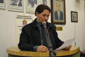 Fabinho critica o fim do Centro de Convivência do Idoso