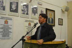 Fabinho propõe a volta de operações policiais na cidade