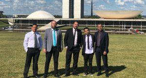 Grupo de vereadores busca recursos para Ferraz em Brasília