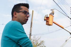 Renatinho quer clareza nos serviços de iluminação pública