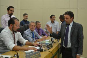 Professor Pedro pede licença e Luiz Tenório assume o cargo