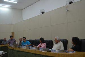 Autoridades discutem o trabalho da Secretaria da Cultura