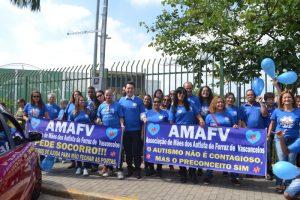 Associação promove caminhada do Dia Mundial do Autismo