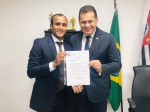 Mineiro agradece a deputado estadual por enviar emenda para Ferraz