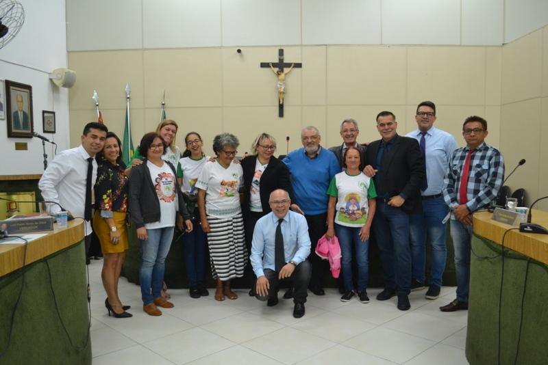 Representantes de Ferraz em conferência ganham moção de aplauso