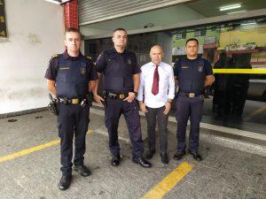 Aparecido Marabraz exalta o trabalho da GCM em prol da segurança pública na cidade
