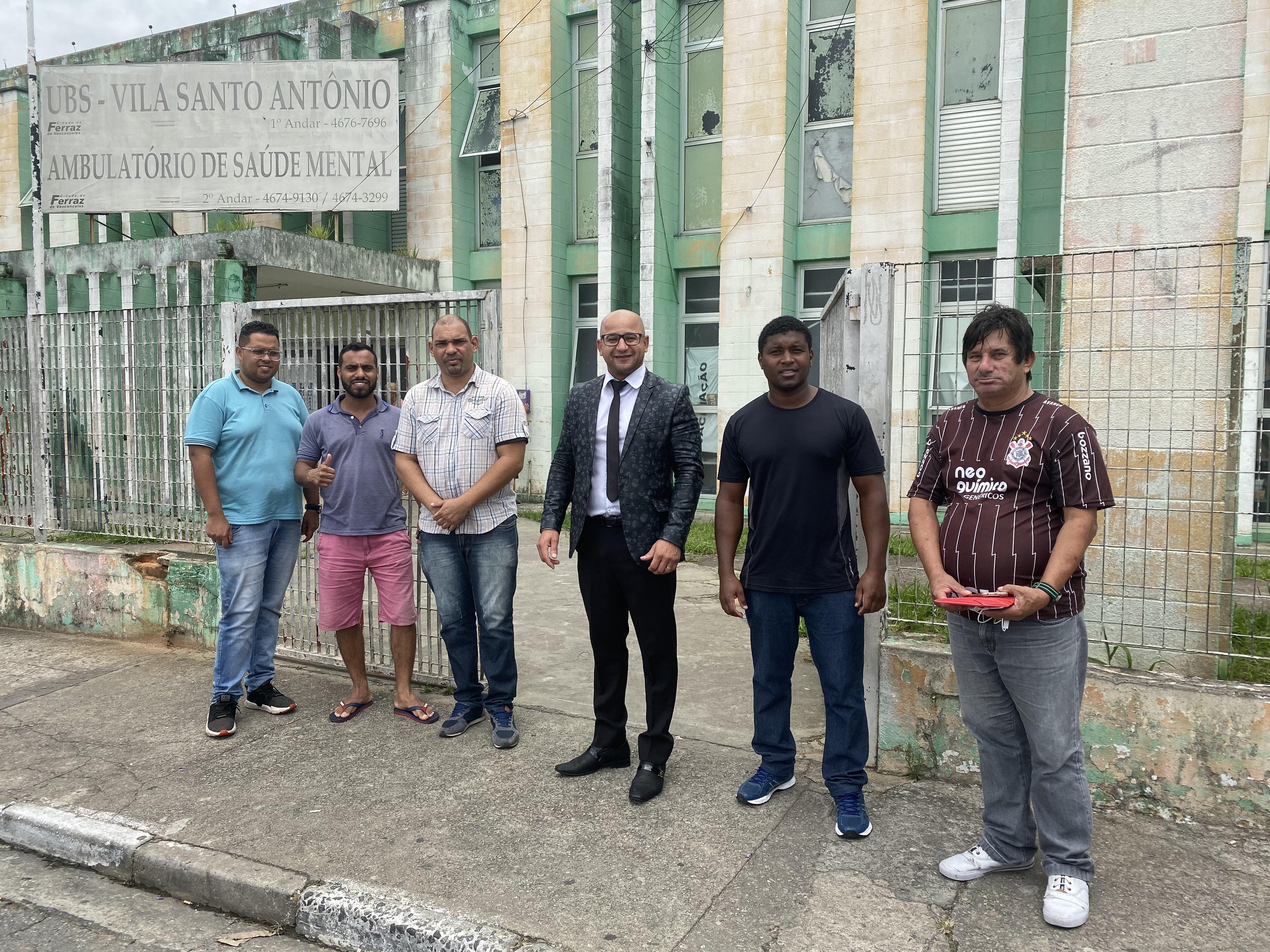 Emenda de Eliel Fox obriga Prefeitura fazer a manutenção predial do posto de saúde na Santo Antônio