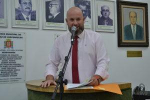 Vereador Squizato aproveita troca-troca de partido para se filiar ao Partido Liberal