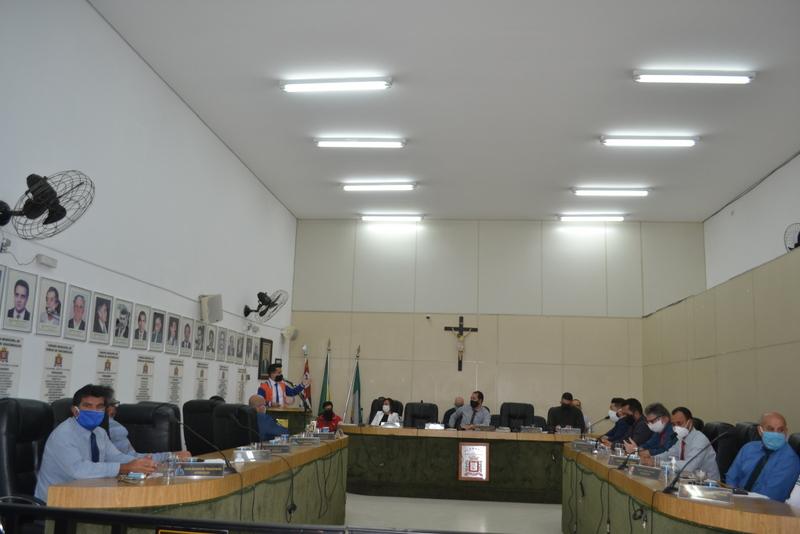 Câmara Municipal aprova a gratificação temporária de R$300,00 para servidores da  saúde