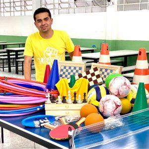 Emenda de Renatinho garante a compra de novos materiais esportivos para escolas locais