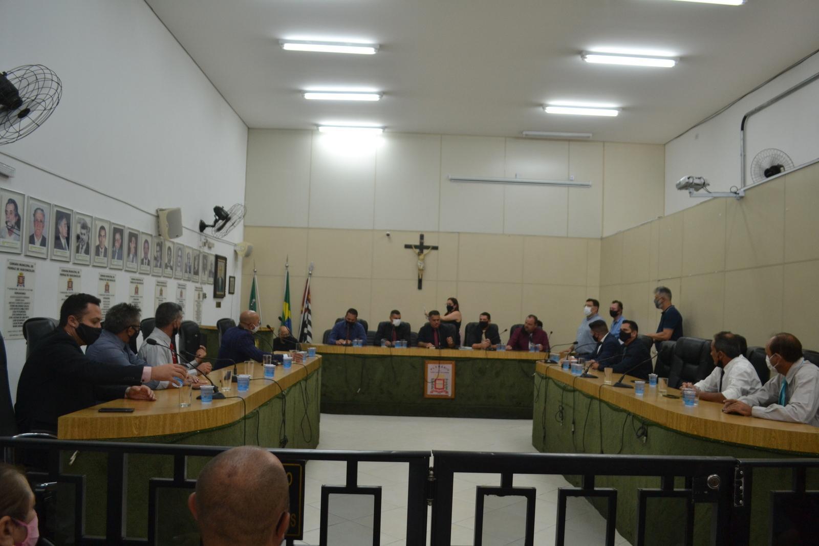 Câmara Municipal define membros de comissões permanentes para o biênio 2021 a 2022