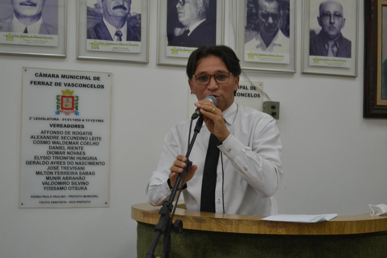 Fabinho defende a volta da Frente Municipal de Trabalho para auxiliar na zeladoria