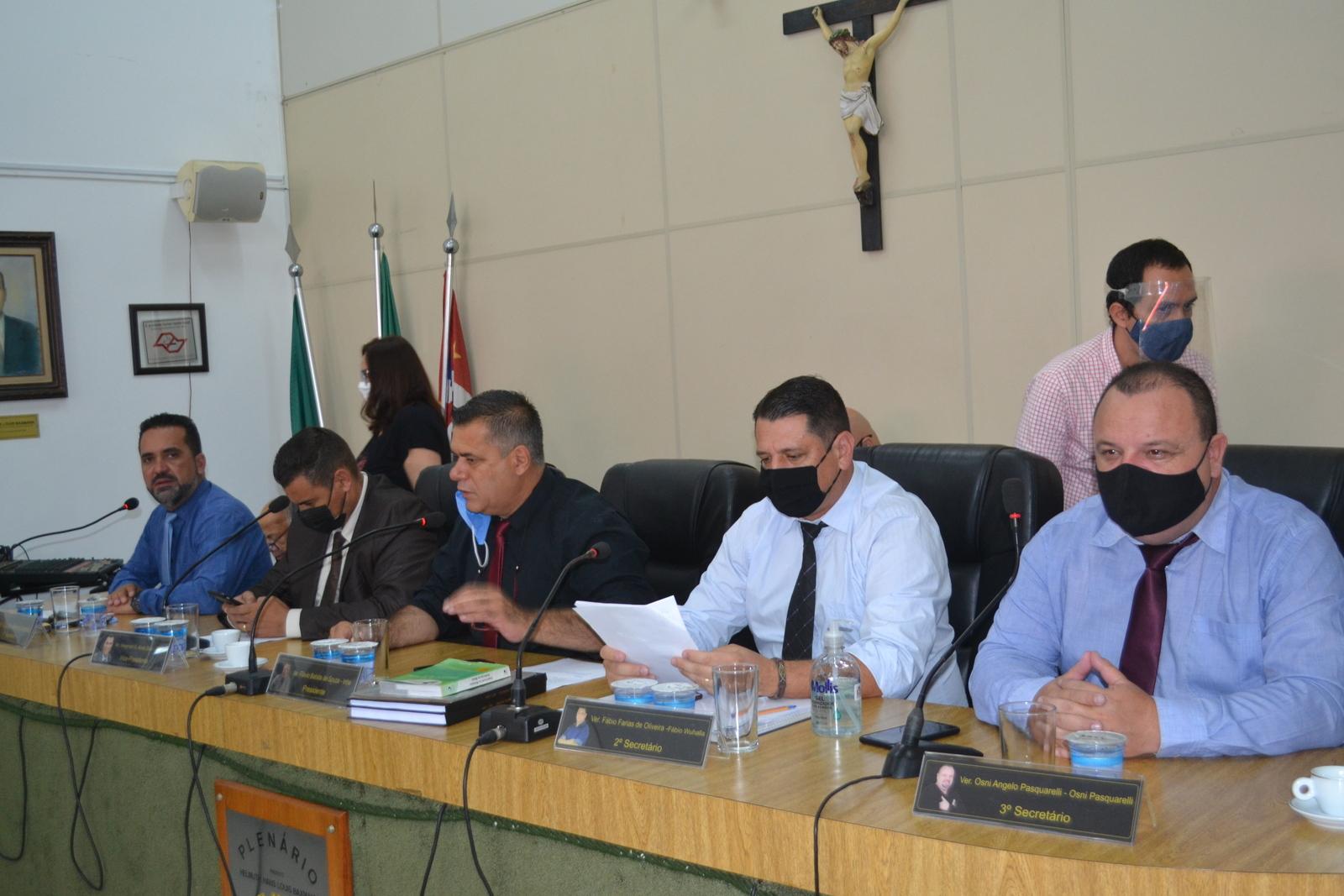 Para cumprir decreto estadual, Mesa Diretora suspende sessão ordinária semipresencial