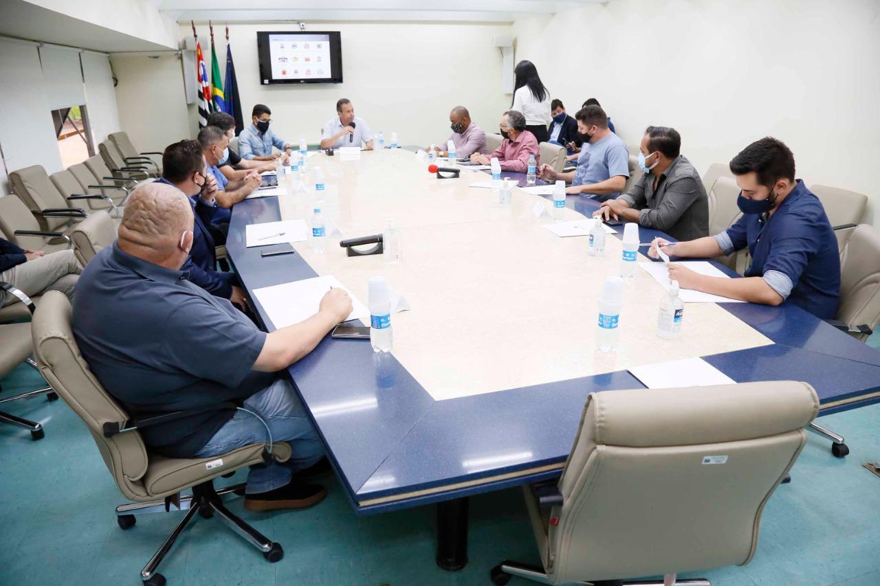 Presidentes de Câmaras se reúnem para discutir ações conjuntas no período de pandemia