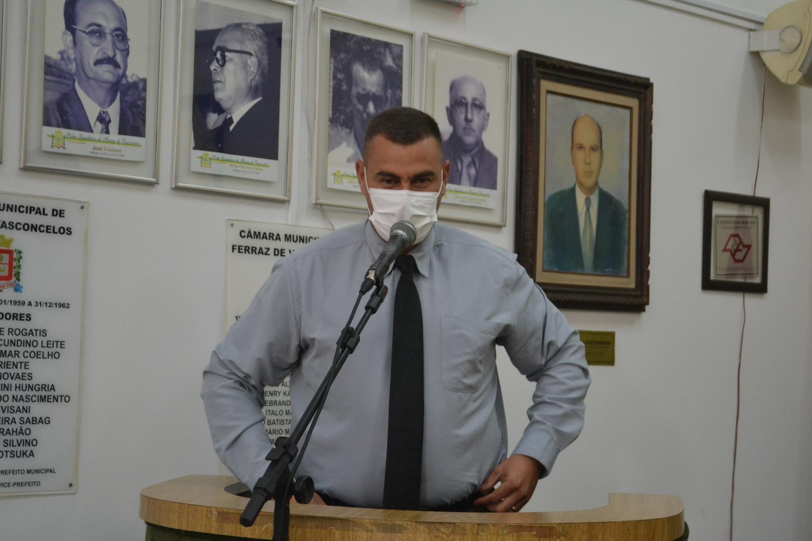 Vereador Teteco cobra reforço no policiamento ostensivo em passarela ao lado do Recanto